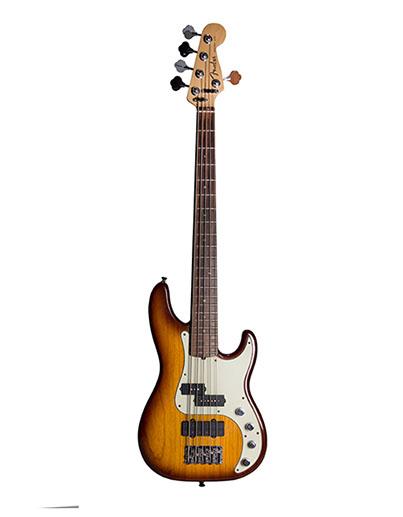Fender  P Bass Delux 5 String  2006  Sunburst