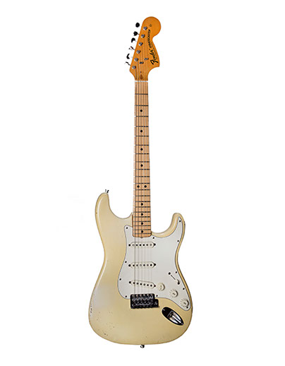 Fender  Stratocaster  1971  White