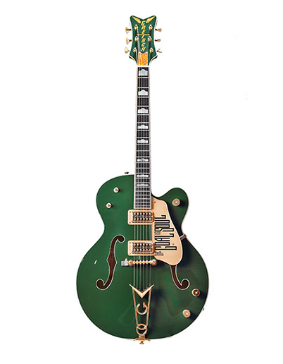 Gretsch  G61361 Irish Falcon  2007 (2001)  Cadillac Green