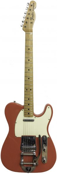 Fender Telecaster with Bigsby Tremolo  1968 Fiesta Red